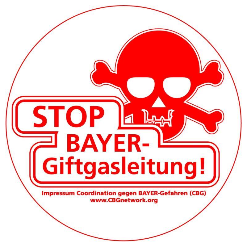 Stop Bayer Giftgasleitung!
